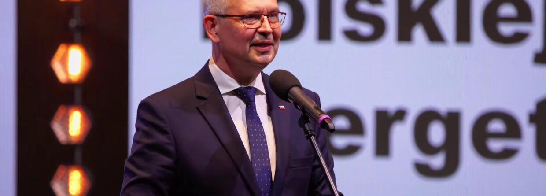 Wiceminister klimatu i środowiska, Ireneusz Zyska. Fot. OSE2021.