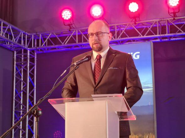Prezes PGNiG Paweł Majewski na Forum Ciepła i Gazu. Fot. Wojciech Jakóbik