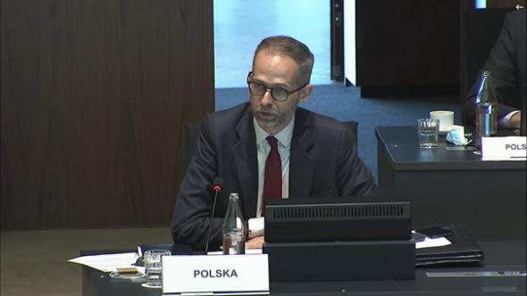 Adam Guibourgé-Czetwertyński, podsekretarz Stanu. Wiceminister klimatu i środowiska.Fot. Bartłomiej Sawicki/BiznesAlert.pl