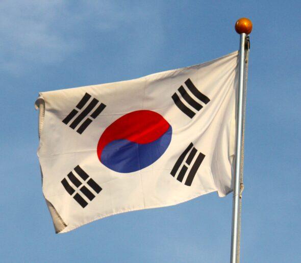 Flaga Korea Południowa