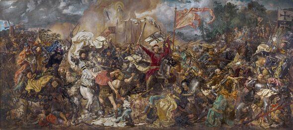 Jan Matejko, Bitwa pod Grunwaldem. Fot. Wikimedia Commons