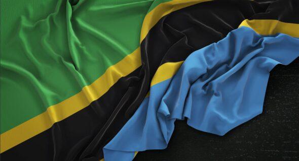 Flaga Tanzanii. Źródło: freepik
