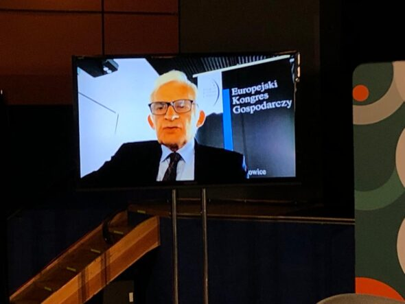 Jerzy Buzek. Fot. BiznesAlert.pl
