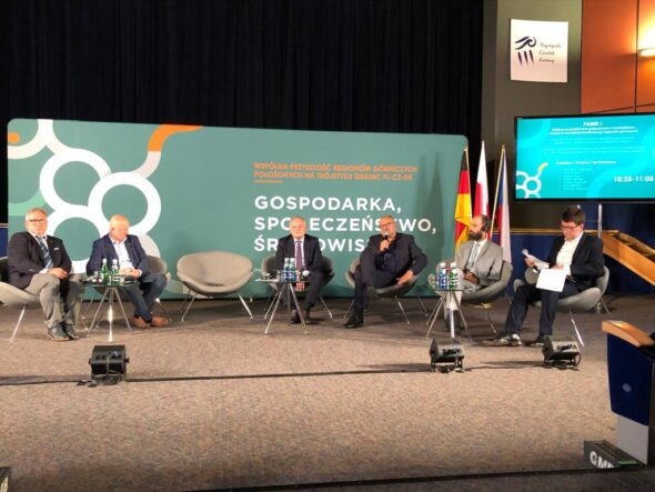 Konferencja w Bogatyni. Fot. BiznesAlert.pl