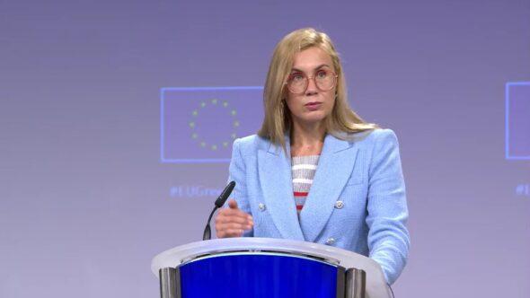 Komisarz ds. energii Kadri Simson. Fot. Bartłomiej Sawicki