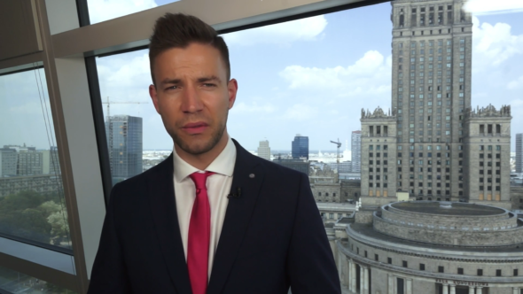 Redaktor naczelny BiznesAlert.pl Wojciech Jakóbik. Fot. MarketNews24.pl.