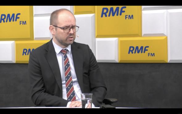 Marcin Przydacz w RMF FM