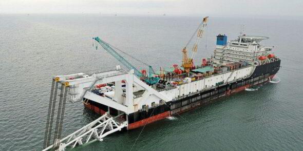 Barka Fortuna fot. Nord Stream 2 AG