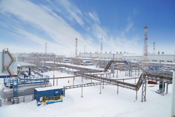 Instalacja przerobu gazu Urengoj