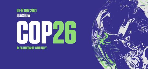 Logo COP 26 w Glasgow