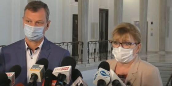 Gabriela Lenartowicz i Andrzej Halicki. Fot. YouTube