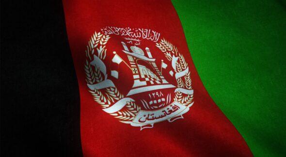 Flaga Afganistanu. Źródło: freepik