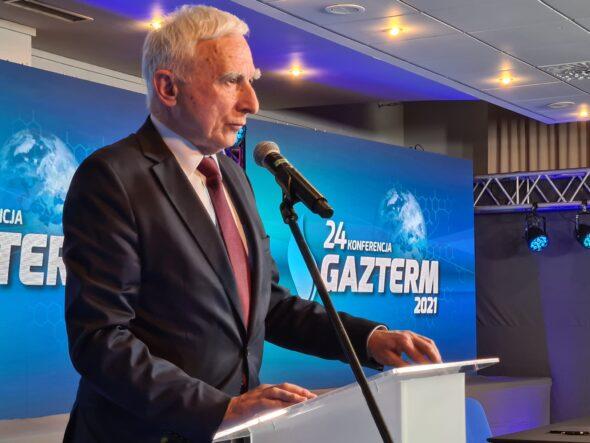 Pełnomocnik ds. strategii energetycznej Piotr Naimski. Fot. Wojciech Jakóbik