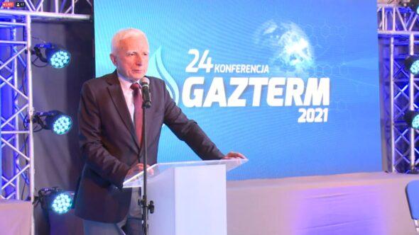 Piotr Naimski na konferencji Gazterm 2021