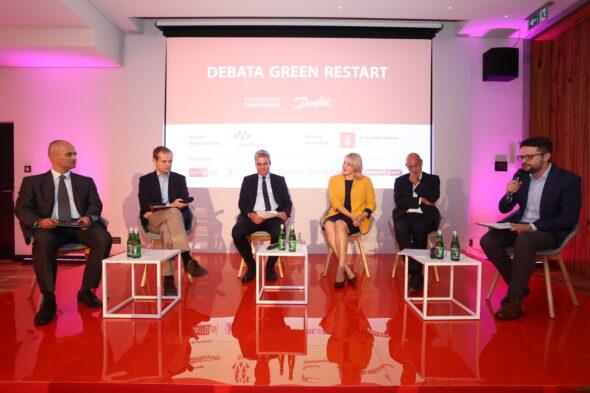 """Debata """"Green Restart"""". Źródło: Twitter/Danfoss"""