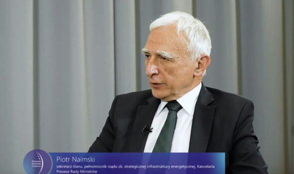 Minister Piotr Naimski podczas EKG 2021. Fot. Jędrzej Stachura