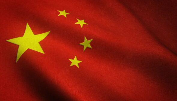 Flaga Chin. Źródło: freepik