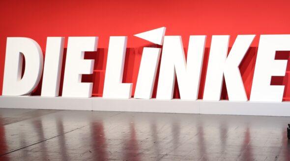 Logo Die Linke. Źródło: Wikicommons