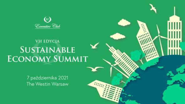 "VII edycja ""Sustainable Economy Summit"". Grafika organizatora."
