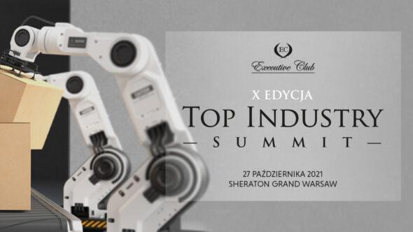 Top Industry Summit – X edycja. Grafika organizatora.