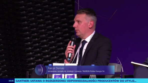 Patryk Demski na EKG 2021. Fot. BiznesAlert.pl