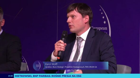 Karol Wolff na EKG 2021. Fot. BiznesAlert.pl