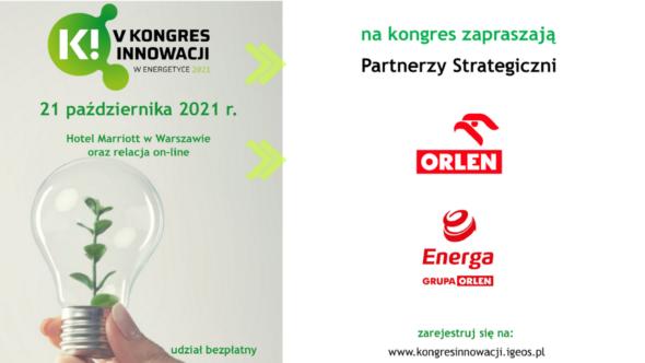 V Kongres Innowacji w Energetyce. Grafika organizatora.