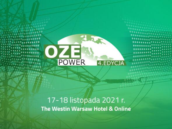 Strategia transformacji energetycznej i dążenie do neutralności klimatycznej – 34. Konferencja Energetyczne EuroPOWER i 4. OZE POWER. Grafika organizatora.