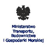 Logo Ministerstwo Transportu