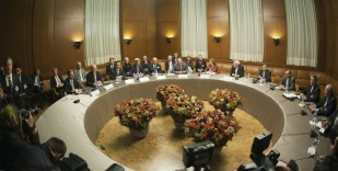 Rozmowy atomowe z Iranem w formacie P5+1 w Genewie.