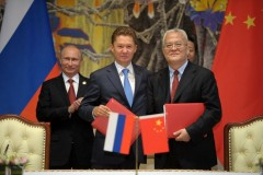 Podpisanie pierwszej umowy gazowej Rosja-Chiny.