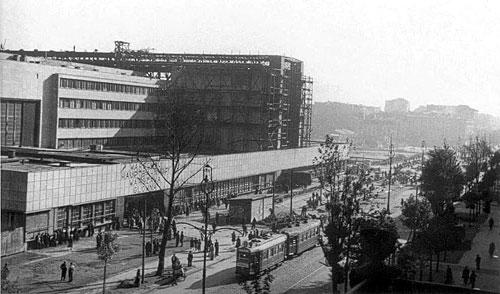 Dworzec Główny w Warszawie przed 1945 rokiem