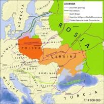 Gazociągi Rosjan oplatają region Europy Środkowo-Wschodniej.