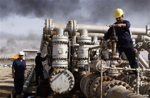 Wydobycie ropy ropa