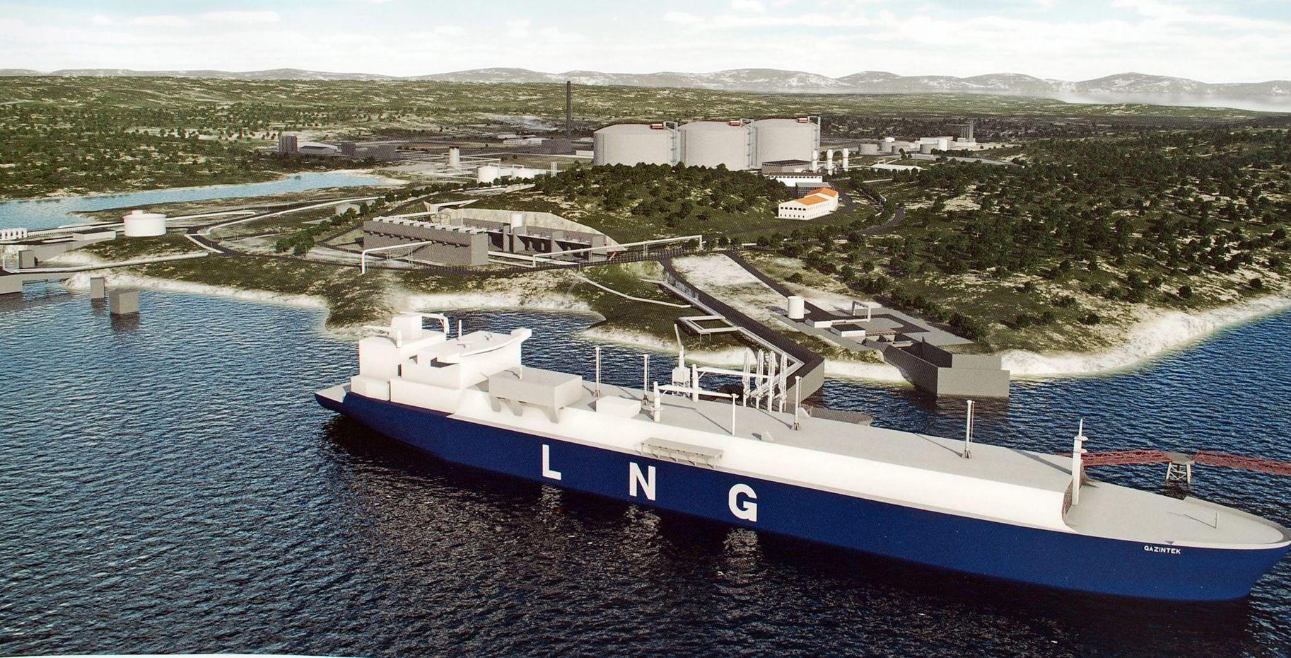 Projekt chorwackiego terminala LNG - Adria LNG