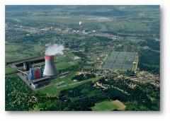 Elektrownia Ostrołęka. Wizualizacja bloku C na węgiel. Fot. Energa