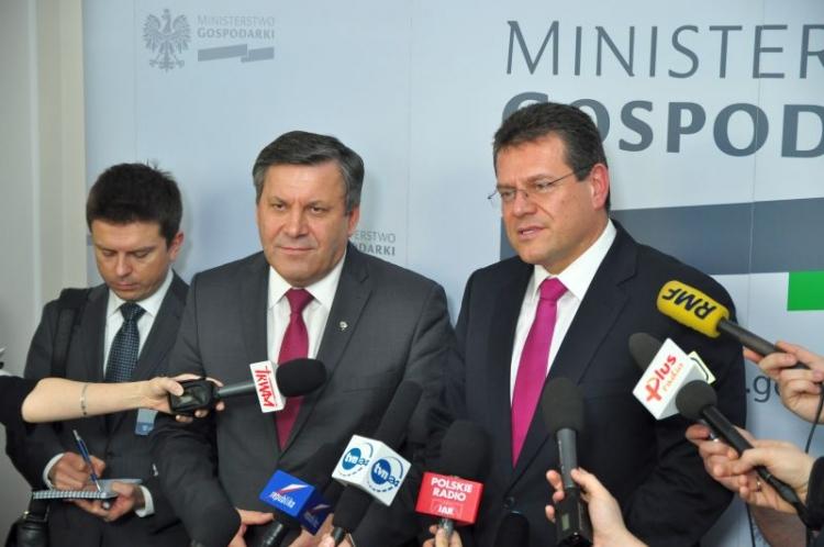 Janusz Piechociński i Marosz Szewczowicz