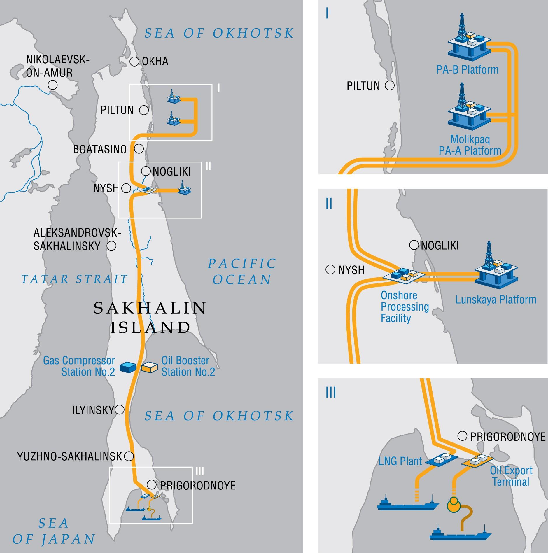 Sachalin 2. Grafika: Gazprom