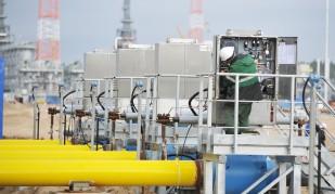 Stacja kompresorowa przy gazociągu Nord Stream. Fot. Gazprom