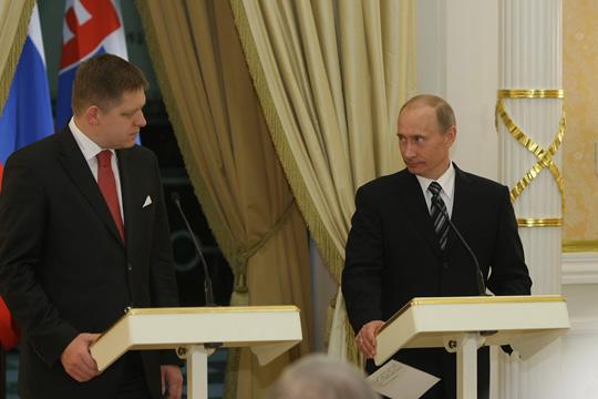 Władimir Putin Robert Fico
