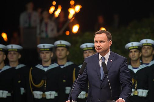 Andrzej Duda Westerplatte