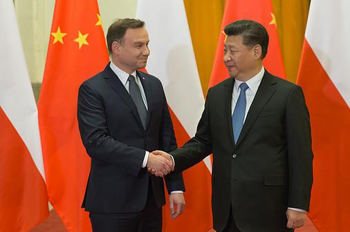 Andrzej Duda Xi Jinping