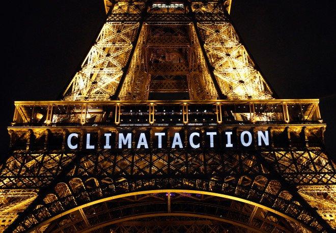 COP21 Wieża Eiffla 2