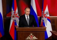 Prezydent Federacji Rosyjskiej Władimir Putin. Fot.: Kremlin
