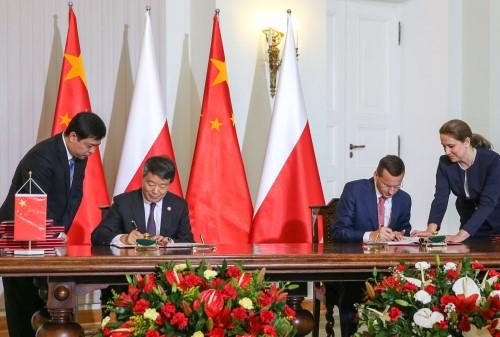 Chiny Polska