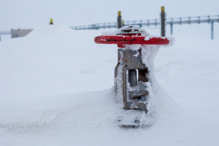 gazociąg gaz rurociąg kurek Arktyka