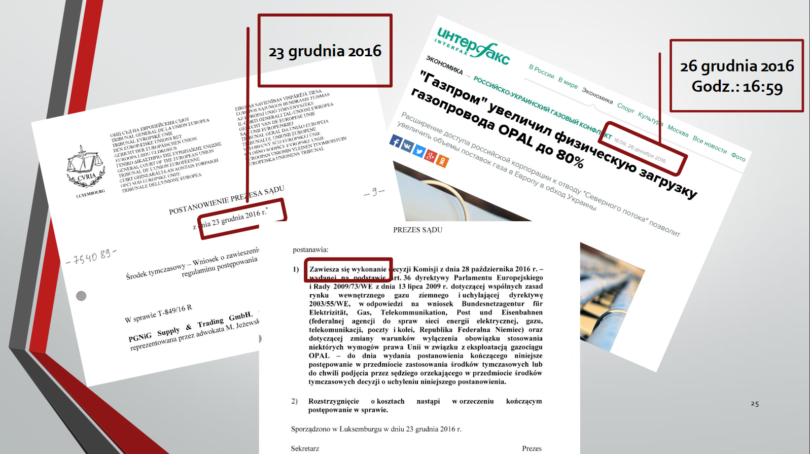 Zwiększenie dostaw przez OPAL byłoby sprzeczne z orzeczeniem Trybunału. Fot. BiznesAlert.pl