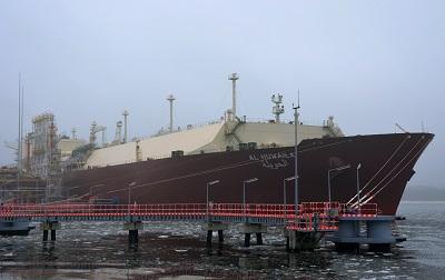 Źródło: Gaz – System, dostawa LNG