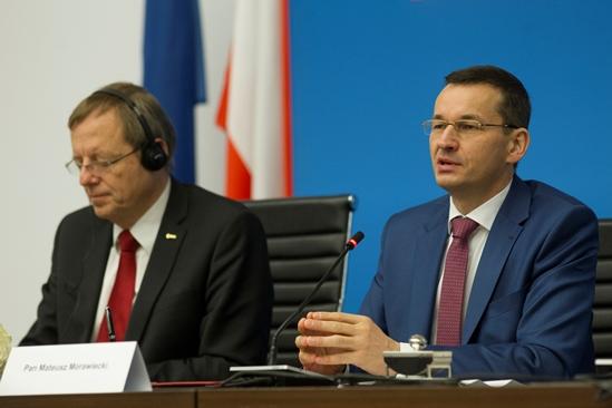 Mateusz Morawiecki i ESA