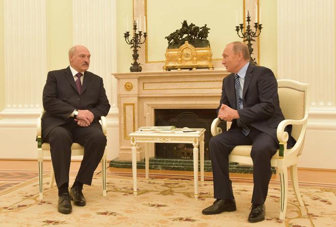 Łukaszenka Putin